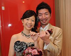 一生の思い出を結婚式で作る事ができました